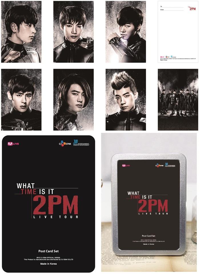 2PM Postcard Set