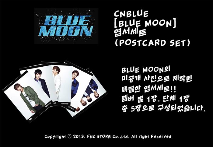 CNBLUE Blue Moon Postcard Set