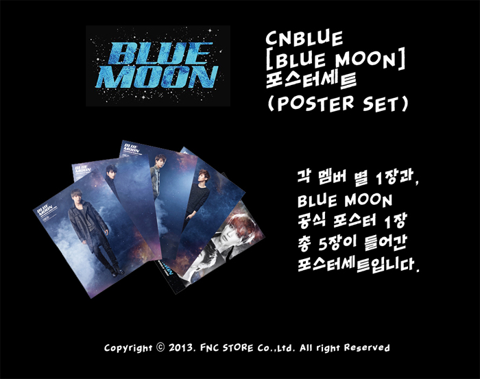 CNBLUE Blue Moon Poster Set