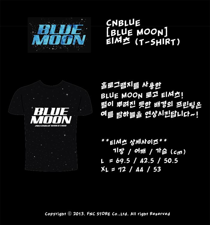 CNBLUE Blue Moon T-shirt