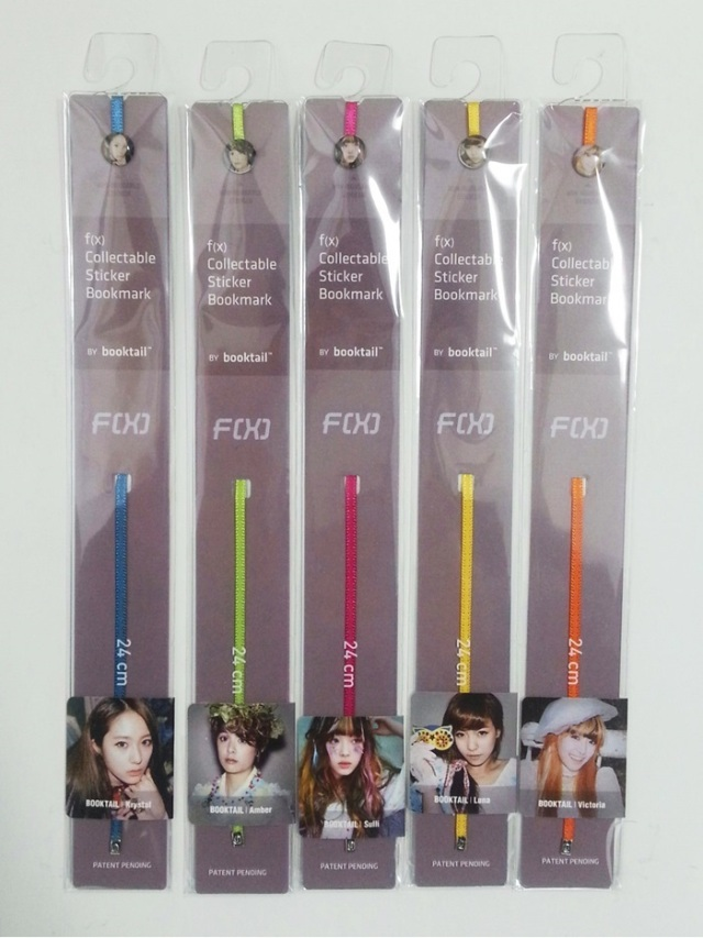 F(x) Collectable Sticker Bookmark
