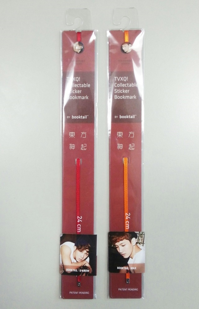 TVXQ Collectable Sticker Bookmark