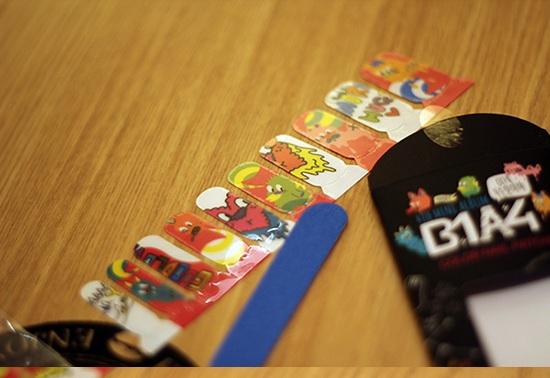 B1A4 Nail Sticker