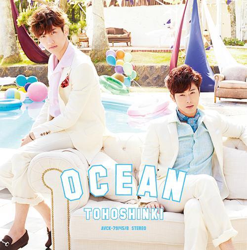 Tohoshinki Ocean CD +DVD