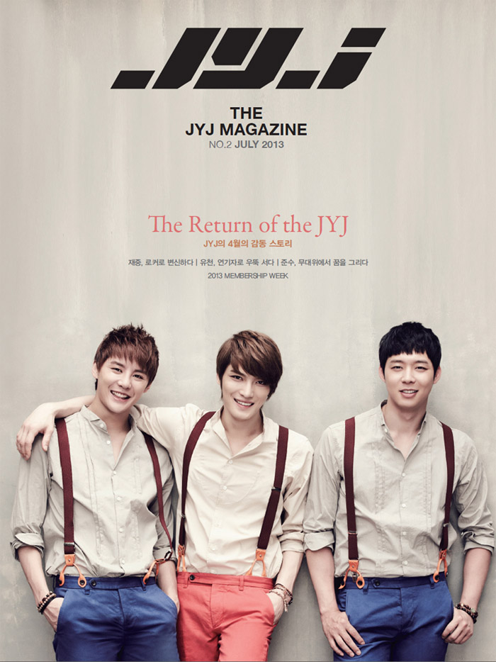 The JYJ Magazine The Return of the JYJ