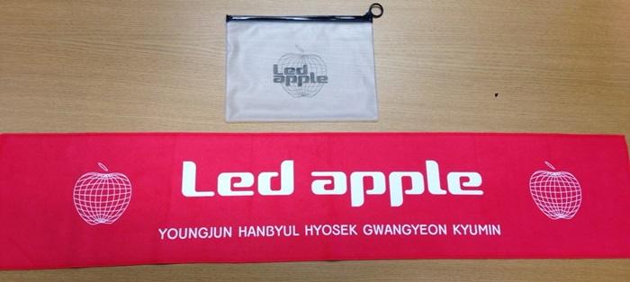 Led Apple Slogan