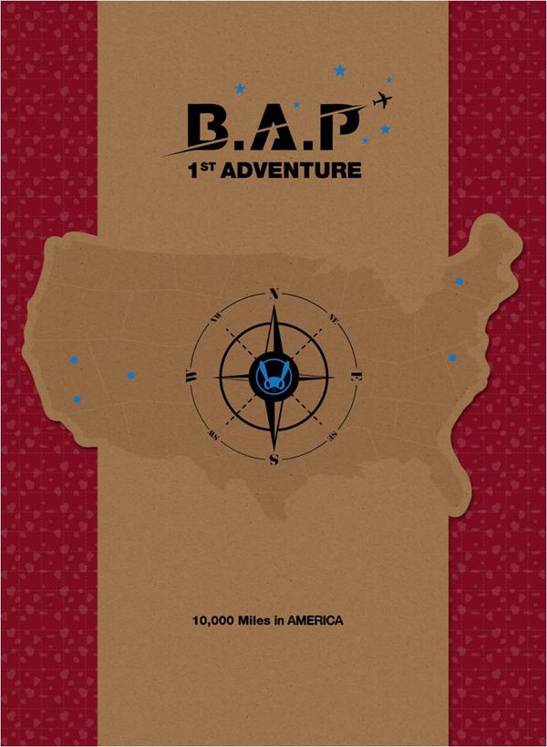 B.A.P 1st Adventure