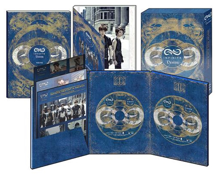 Infinite Desiny in America Korea Release.