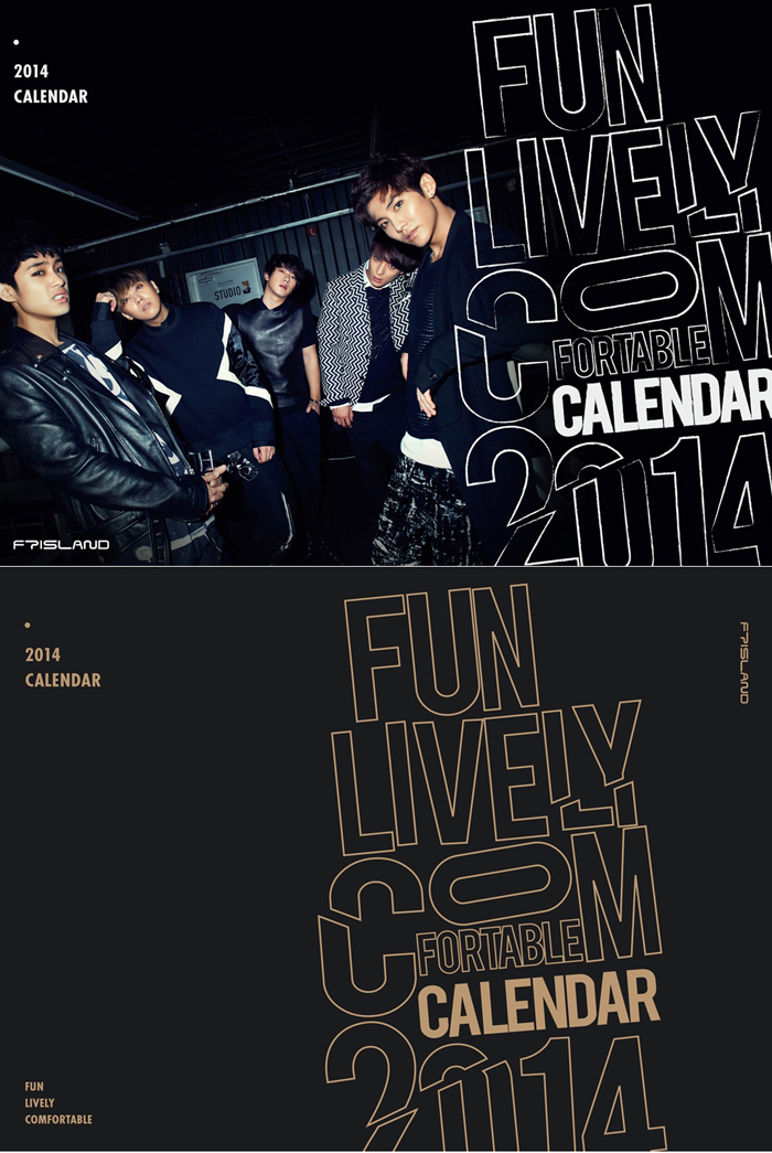 F.T.Island 2014 Season Greeting