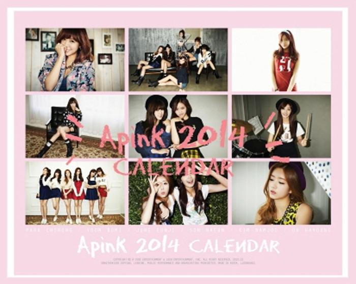 APink 2014 Calendar