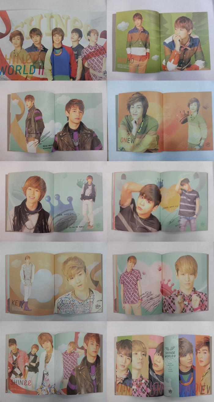 SHINee SW2 Brochure