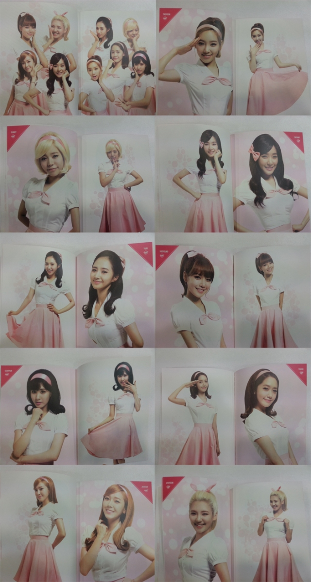 Girls' Generation 2013 World Tour Girls & Peace Brochure